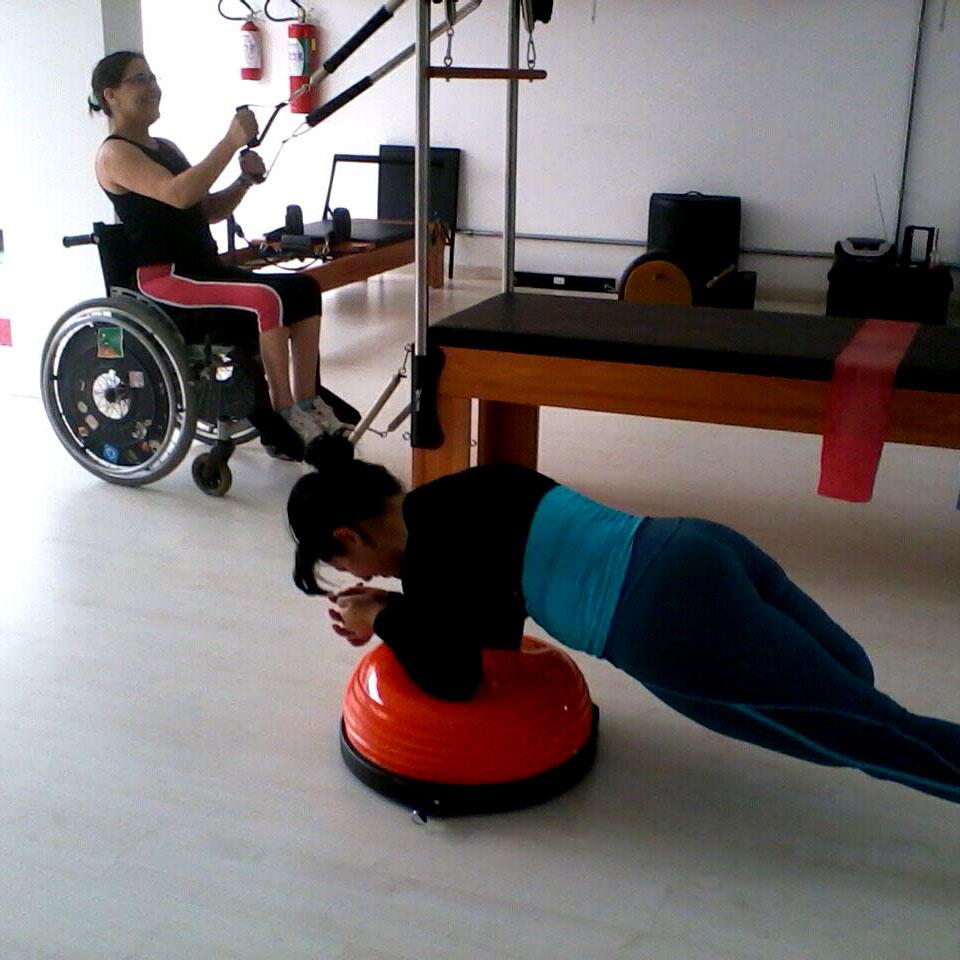 pilates e acessibilidade - grupo