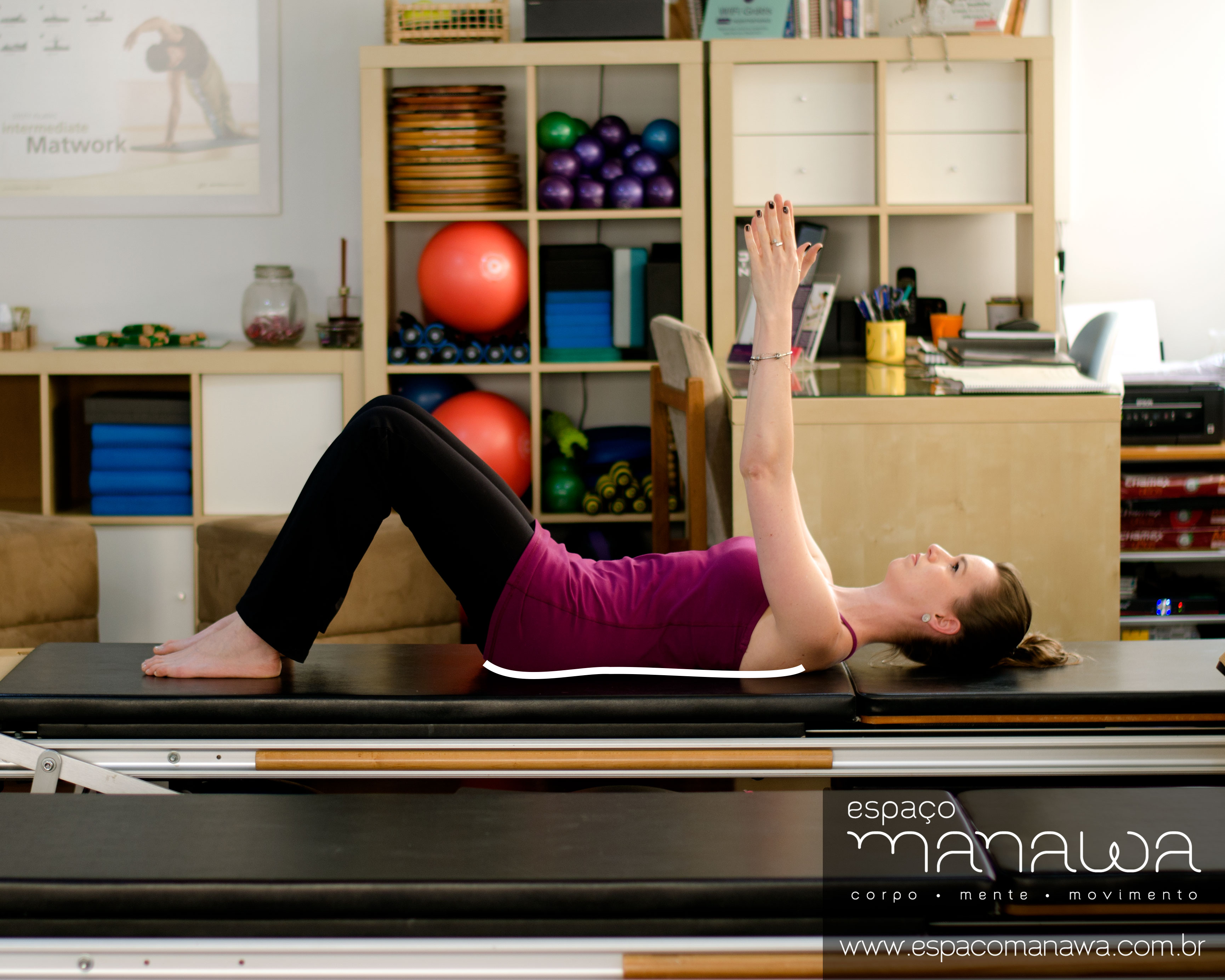 Pilates e a dor lombar - imprint